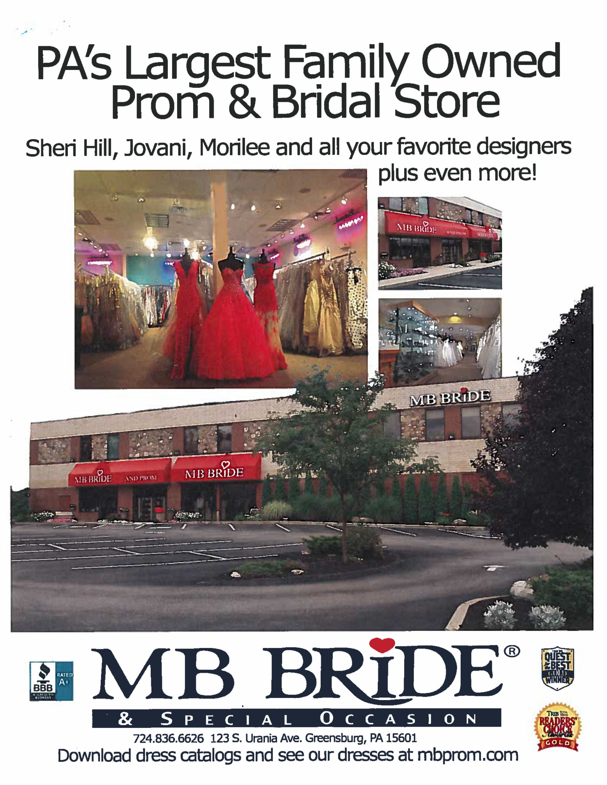 Bridal Shop Full Page