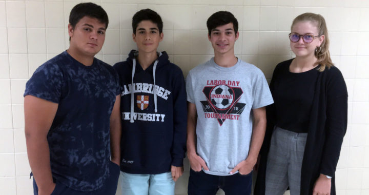 IHS welcomes exchange students for the year