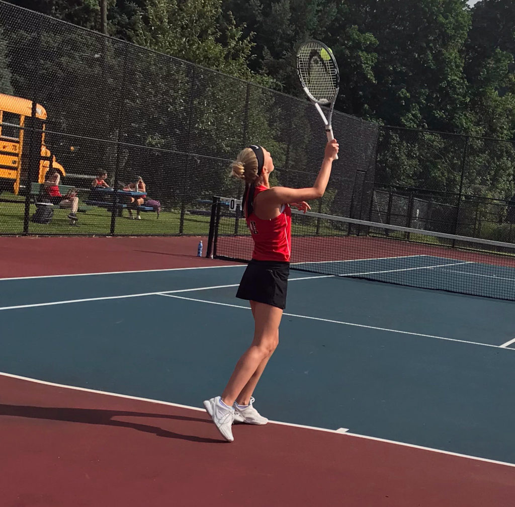 Girls Tennis Team swings into new season with fresh lineup