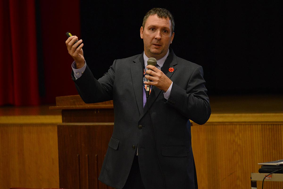 """New Superintendent promises """"A system of good friendships within the district"""""""