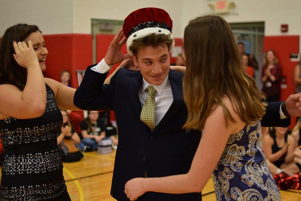 Congrats Anthony Bevevino, 2018 Homecoming King!