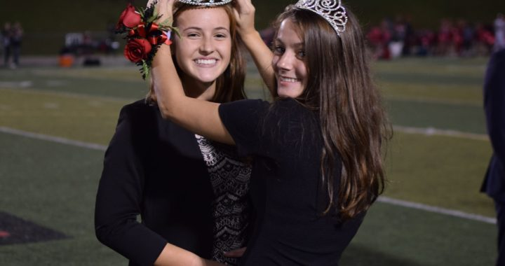 Grace Margita crowned Homecoming Queen 2018!