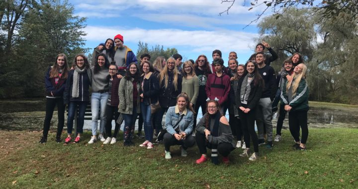 Bienvenue! French exchange students enjoy their stay at the senior high