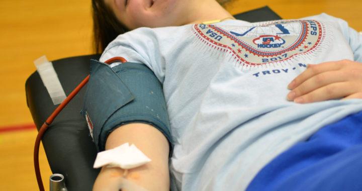 SGA sponsors January Blood Drive