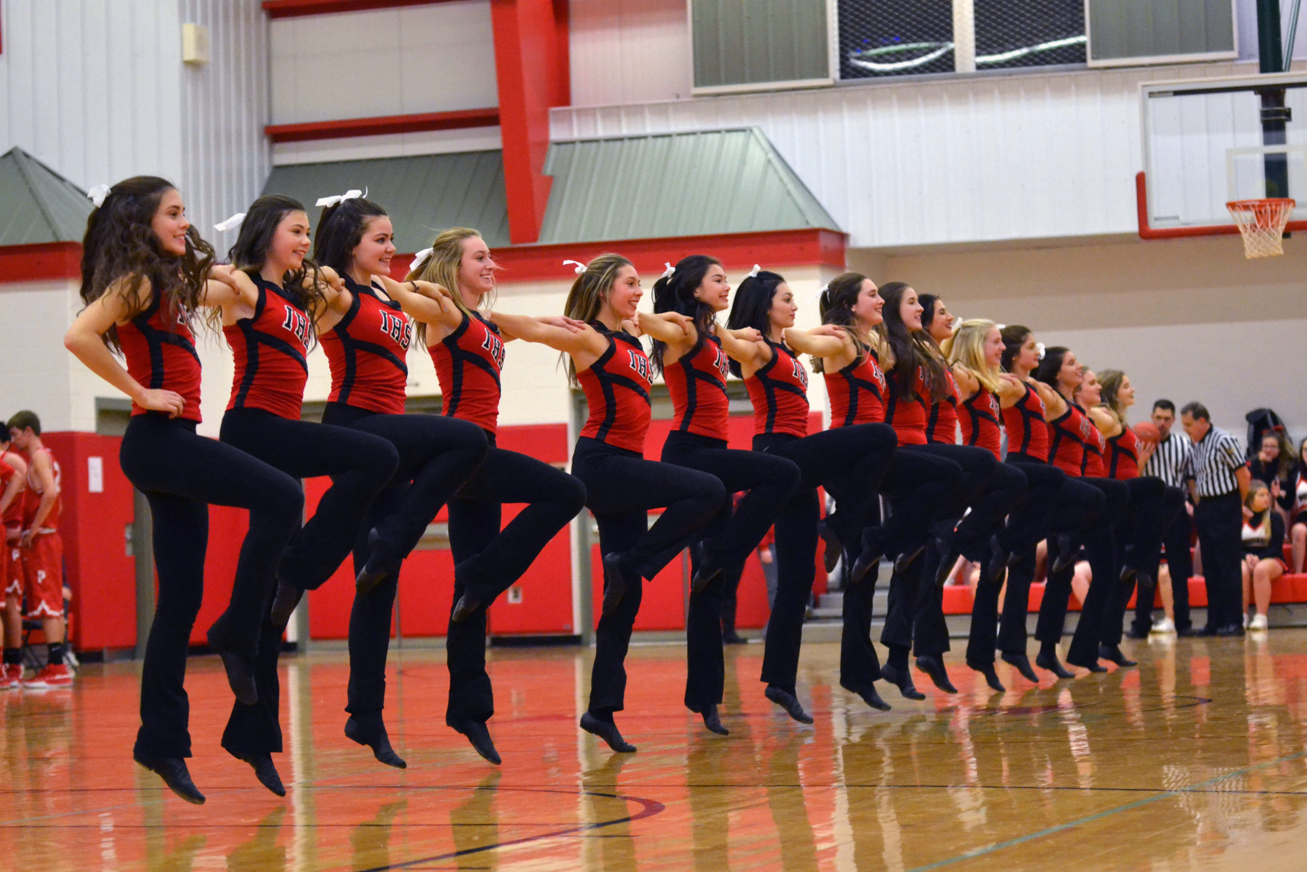 Dance Team stepping to a new beat