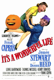 """This is absolutely a movie review about """"It's a Wonderful Life"""" (an obvious parody)"""