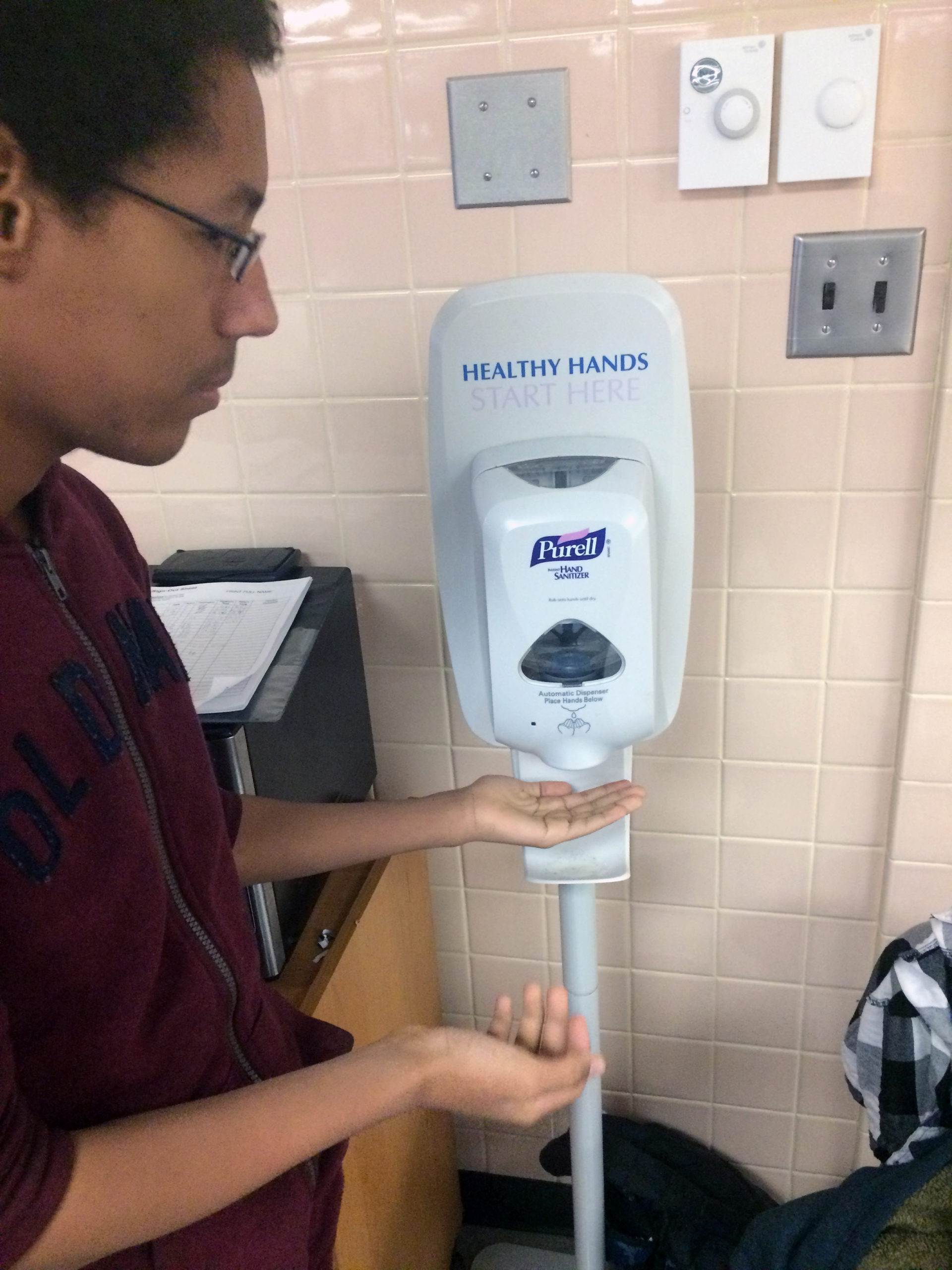 It's that time of year when hand sanitizer is most important