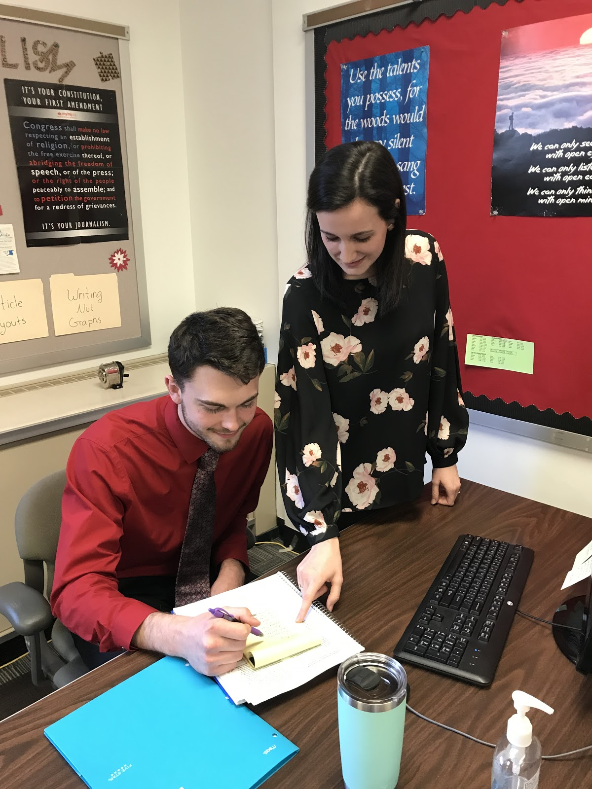 IUP students gain experience through student teaching