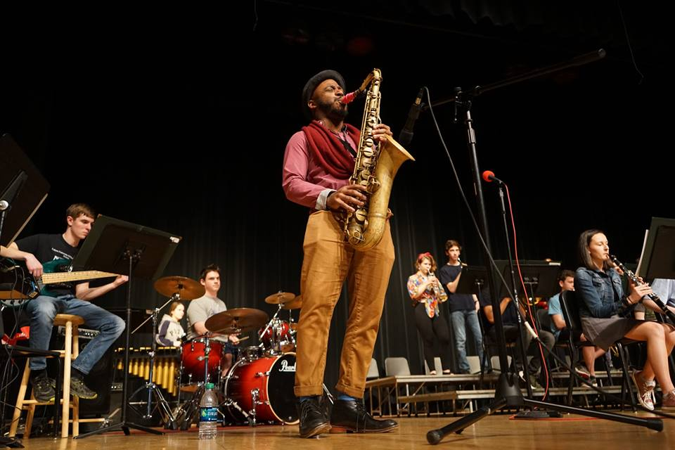 Tivon Pennicott speaks about his life as a jazz saxophonist
