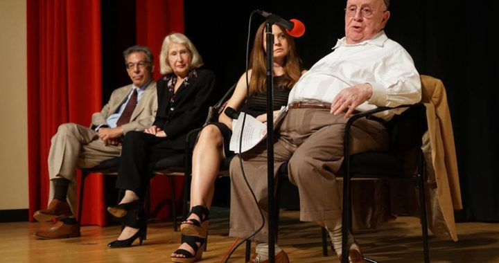 Holocaust survivors speak at IHS