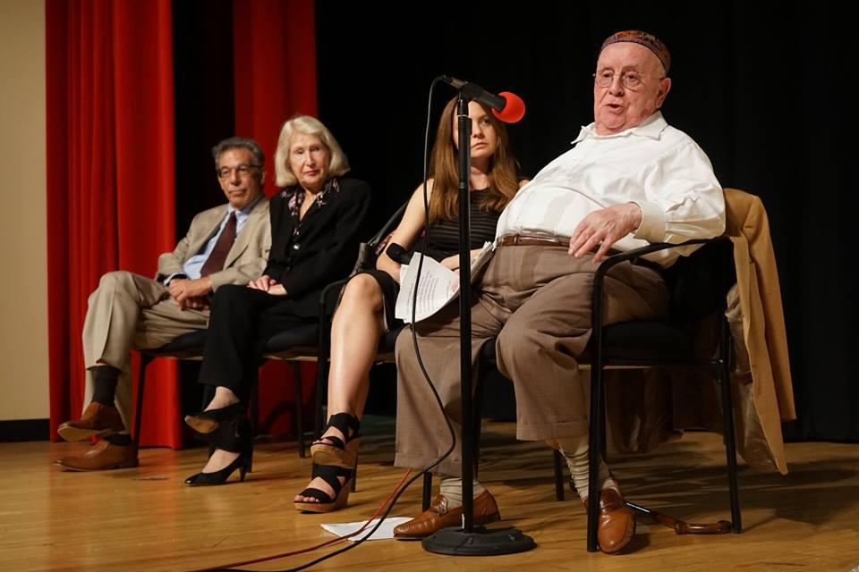Holocaust survivors speak at IHS