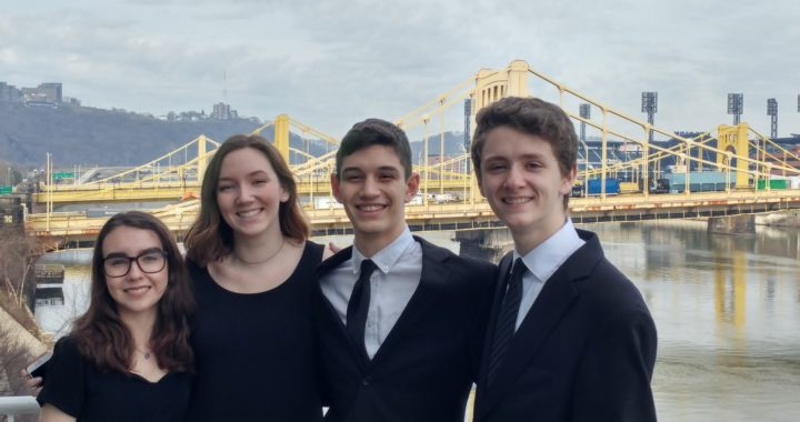 Singing down the East Coast: IHS students attend All-East Choir