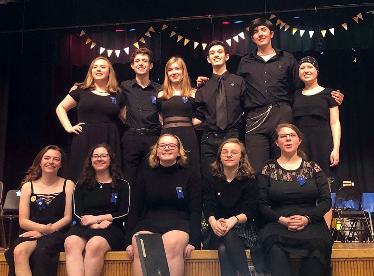 IHS students inducted into International Thespian Society