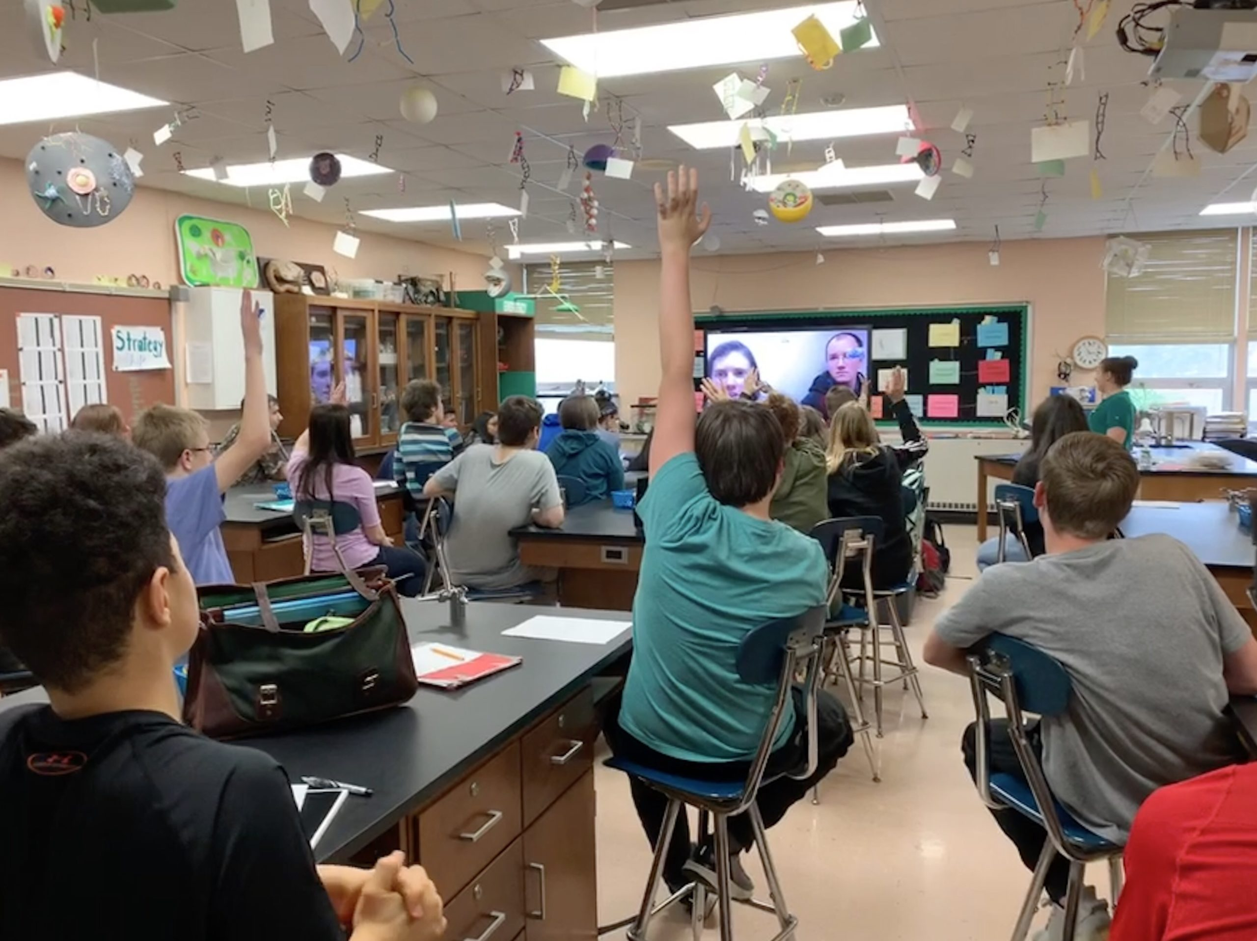 IHS video conference with Antarctica