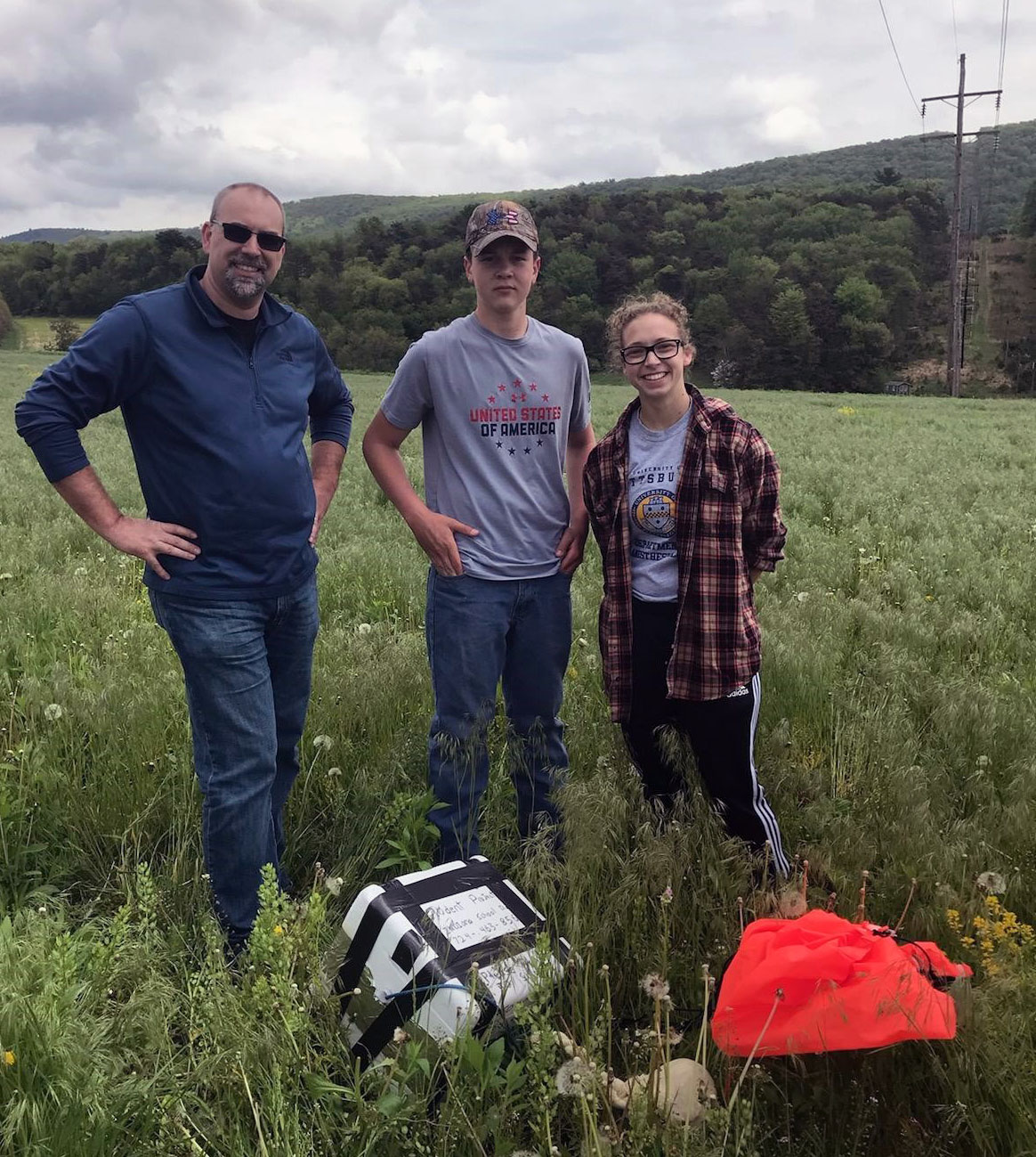 STEM program at IHS launches its first weather balloon