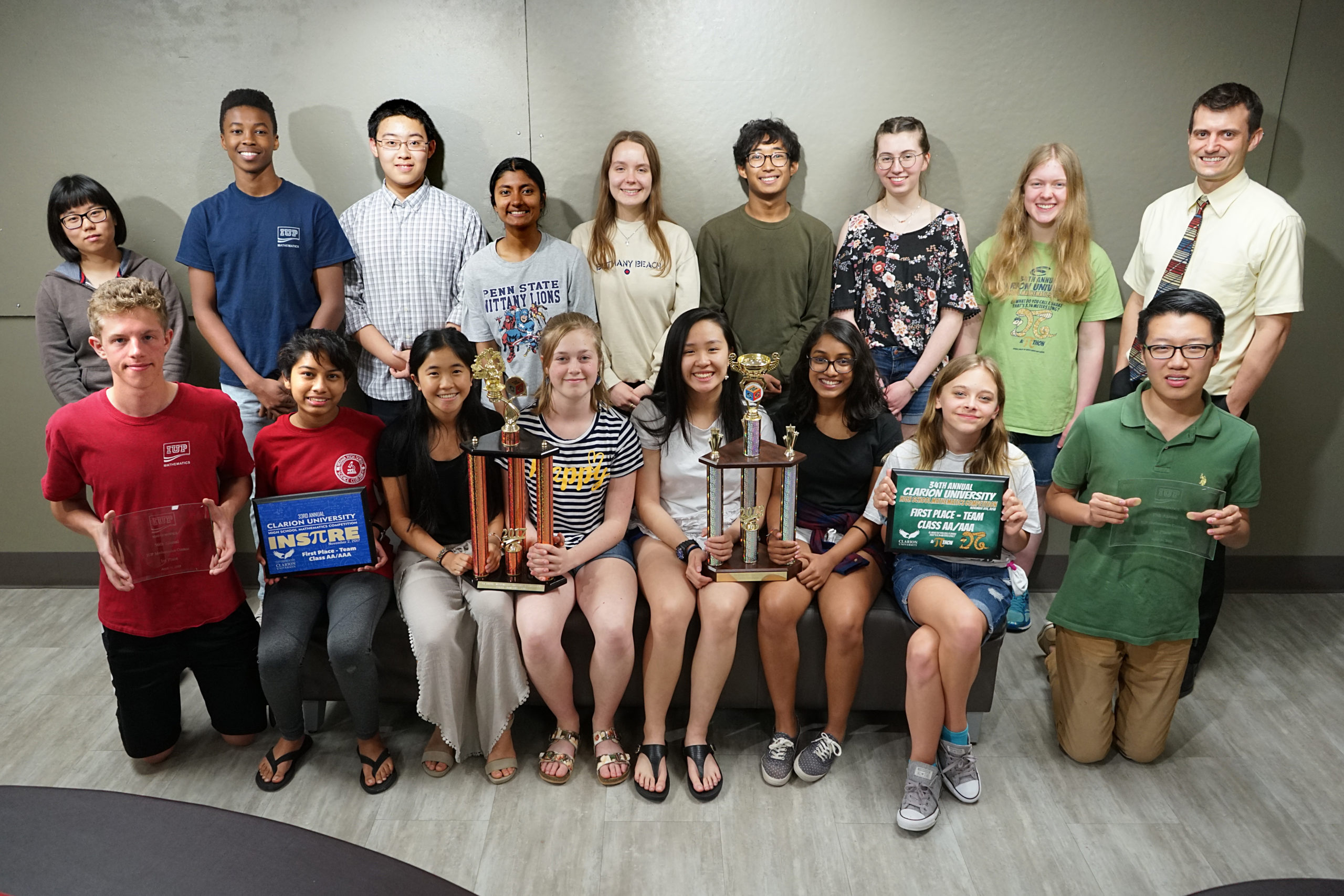 IHS Math team has the most successful year yet