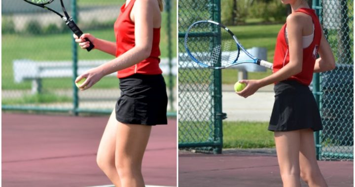 Sophomores play in top singles positions in Girls Tennis Lineup