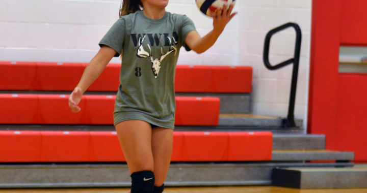 Girls Volleyball raises money for the Wounded Warriors in Action Foundation