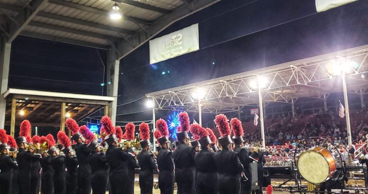 "Marching Band goes ""All In"" at the Indiana County Fair"