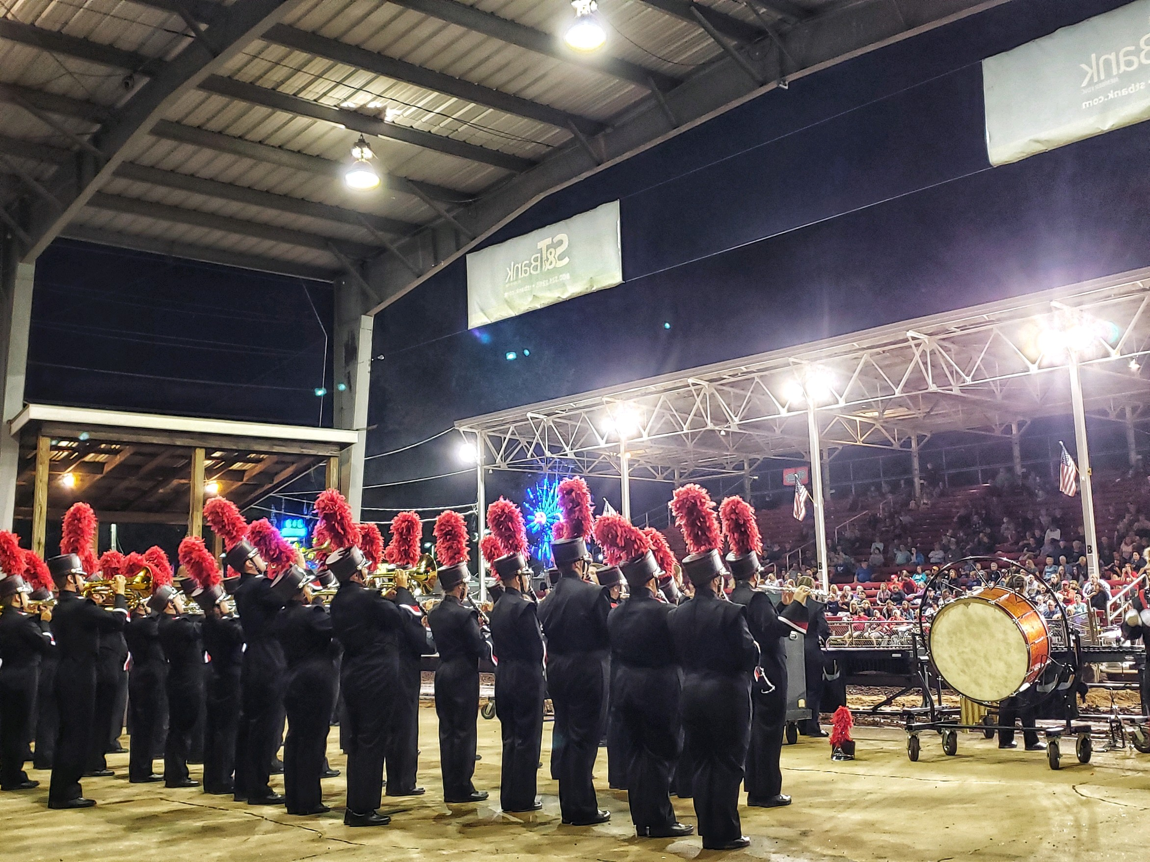 """Marching Band goes """"All In"""" at the Indiana County Fair"""
