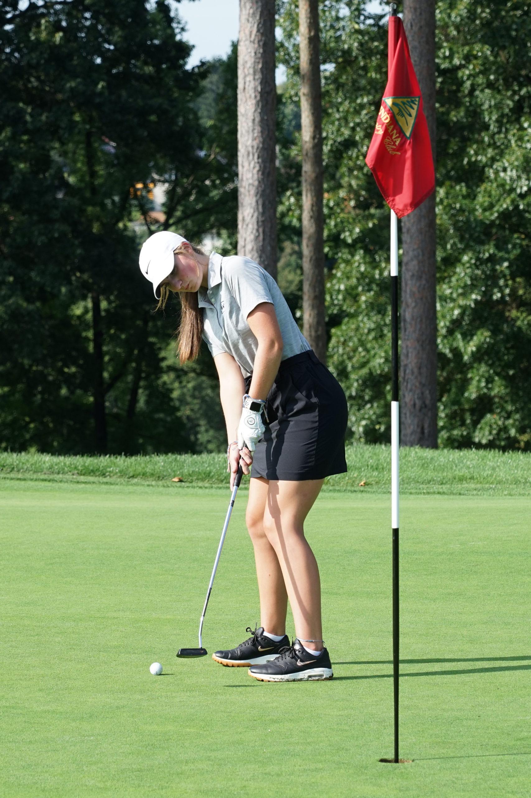 IHS girls golf team tees off into record season
