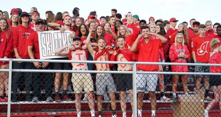 Rowdy Rooters cheer on IHS football for first win as a team