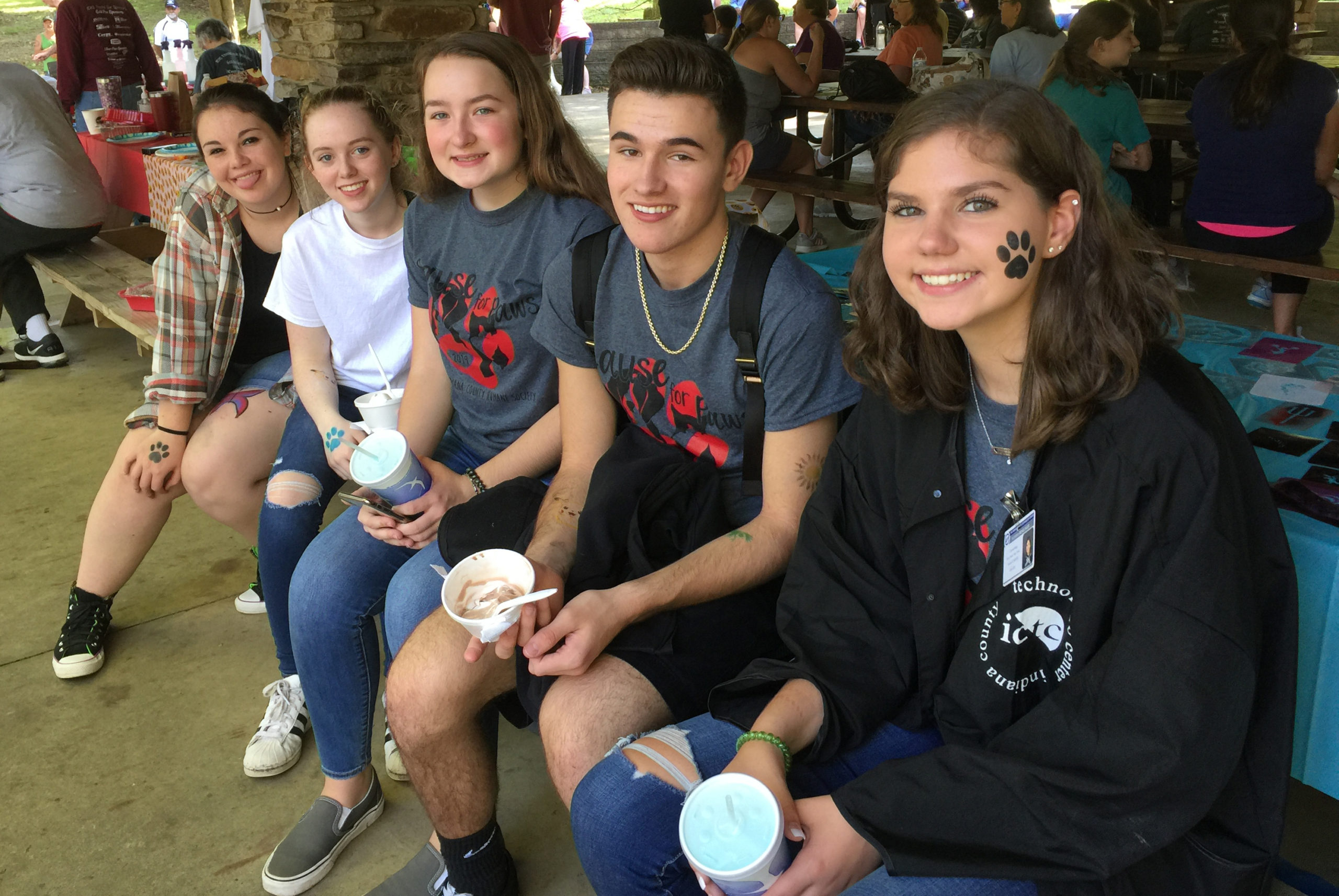 ICTC Students cause tail wags at Cause for Paws event