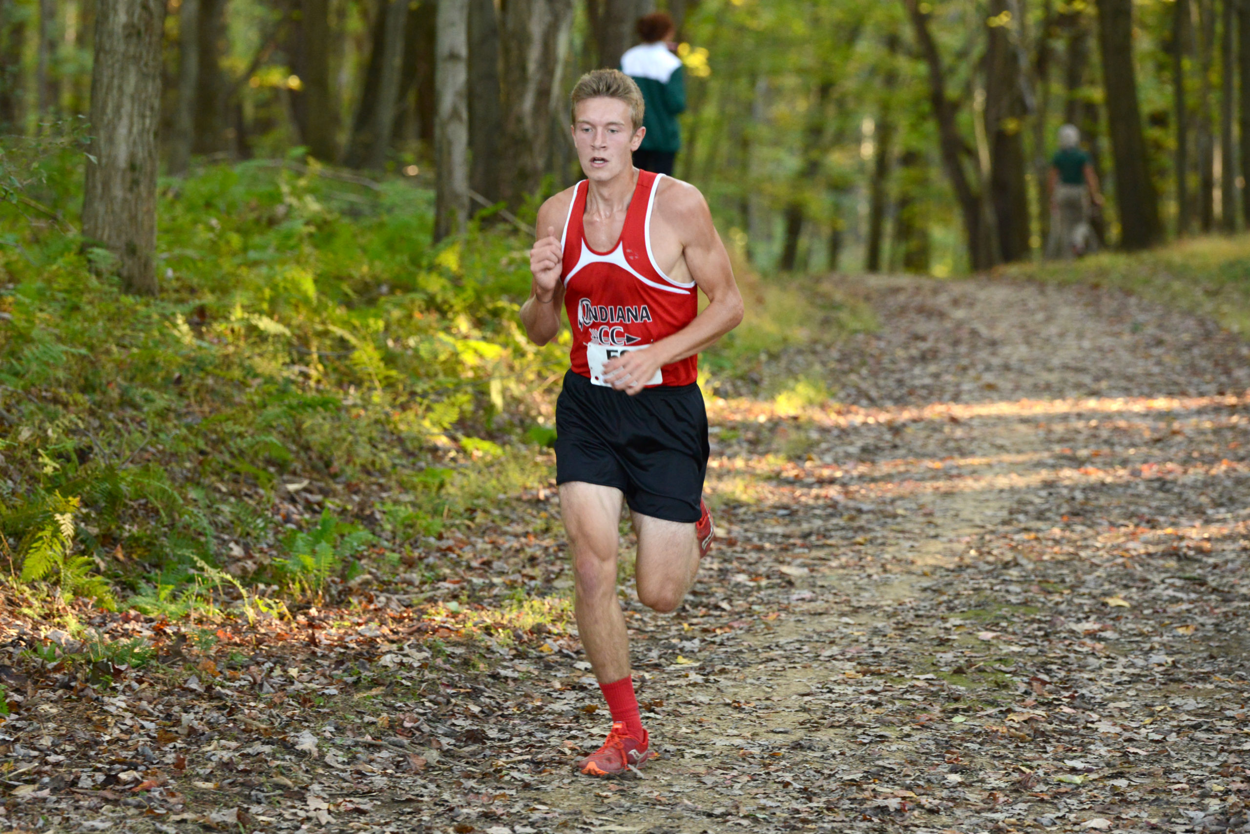 Kendall Branan runs to third overall in the nation