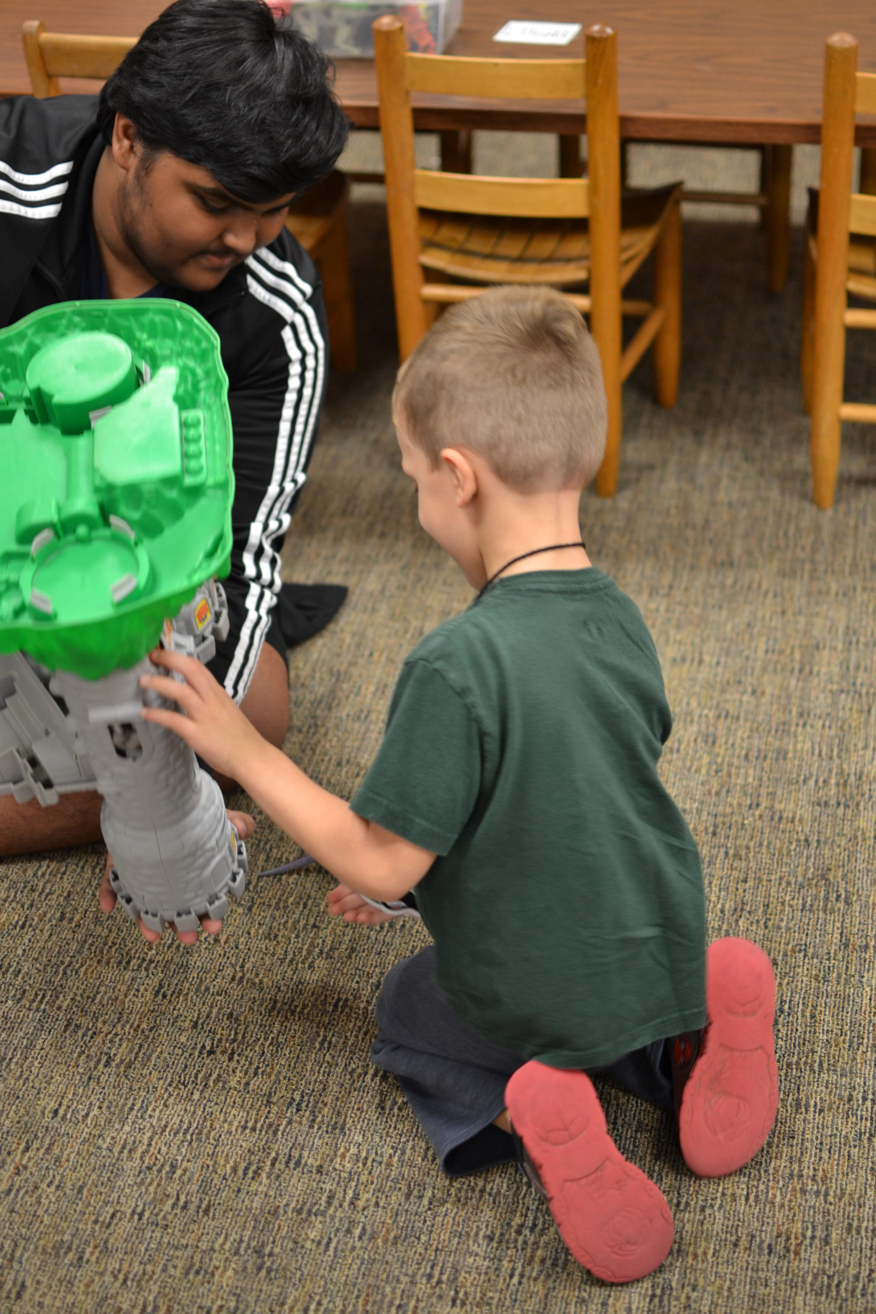 Child Development: A learning experience for both students and preschoolers