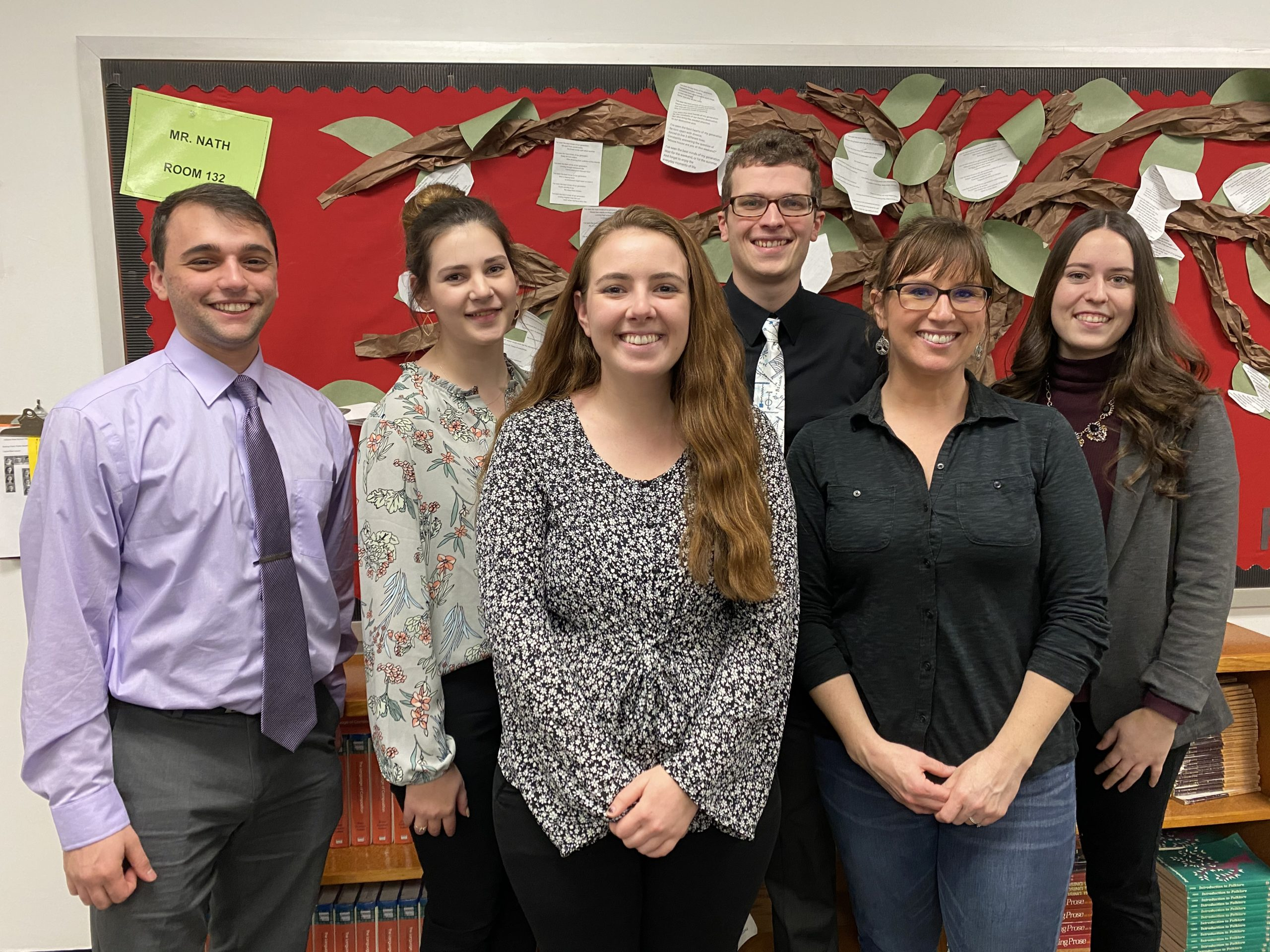 Student teachers bring insight and enthusiasm to the halls of IHS