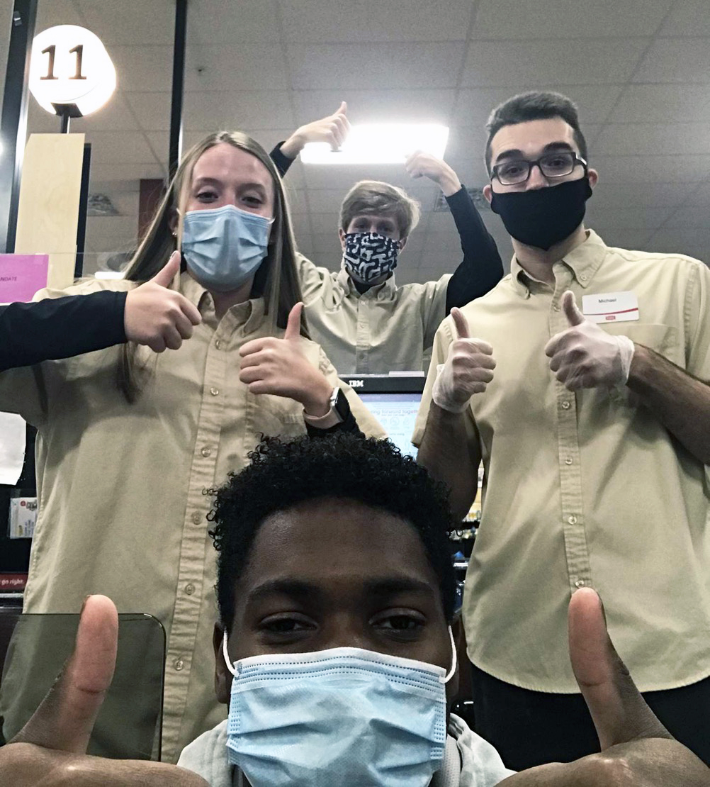 IHS students are essential amidst worldwide pandemic