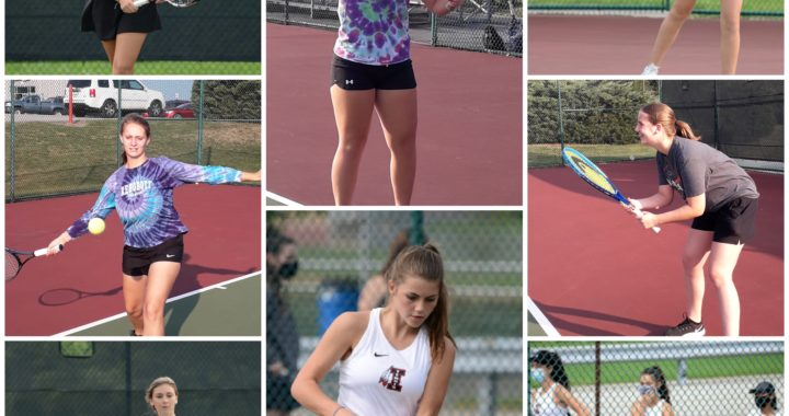Girls' tennis team aces its way to a successful season