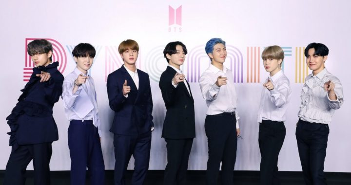 BTS' hit single Dynamite makes an explosive entrance into the Billboard charts
