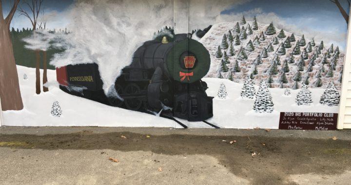 Art students design mural