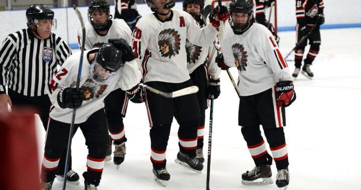 IHS boys hockey team clinches playoff spot