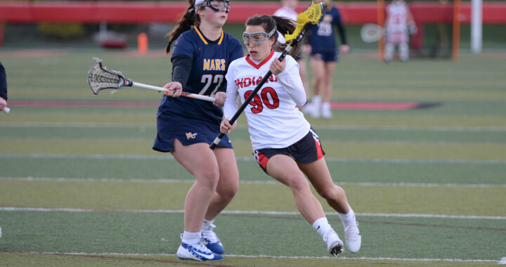 First girl's lacrosse home game proves to be a challenge