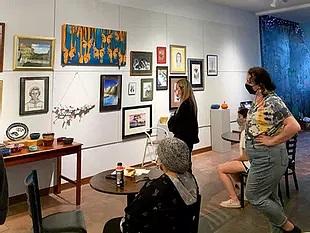 Senior art students shine